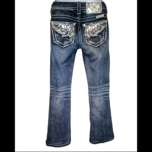 Miss me Angel wing jeans size 24